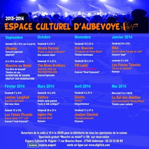 programmation culturel 2013-2014